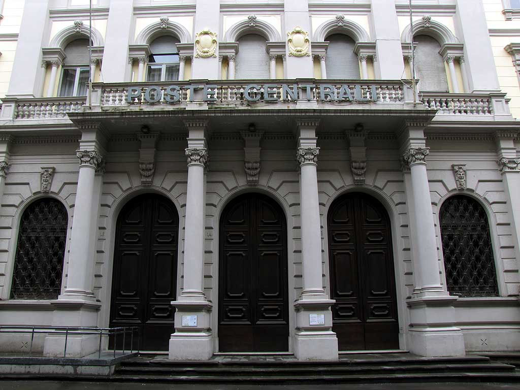 Central Post Office, Livorno