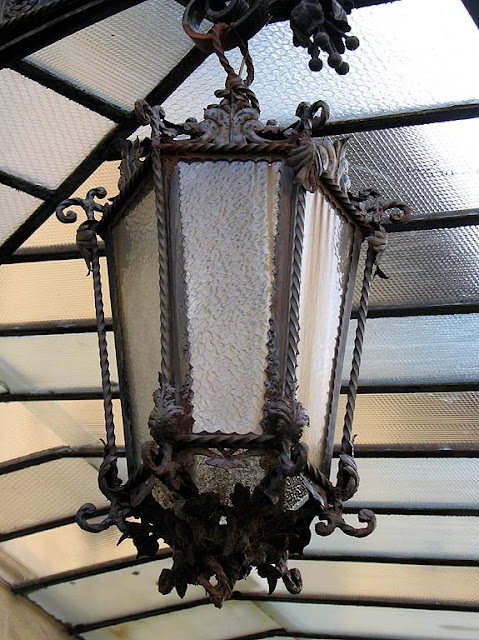 Lantern, wrought iron, Livorno