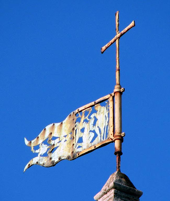 Weather vane of San Giovanni Battista church, Saint John the Baptist, Livorno