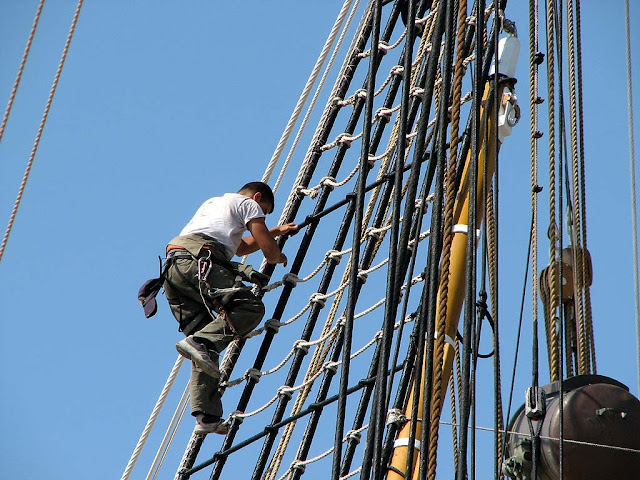 Amerigo Vespucci training ship, Livorno