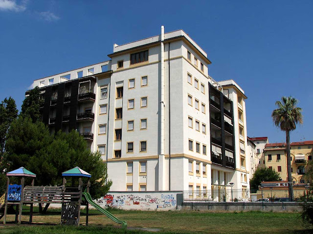 Building of the Astoria Residence, Livorno