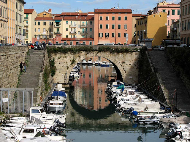 San Benedetto bridge, Livorno