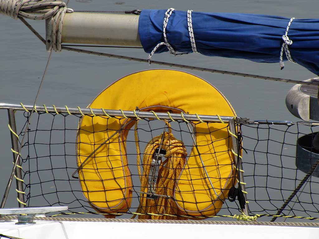yellow lifejacket