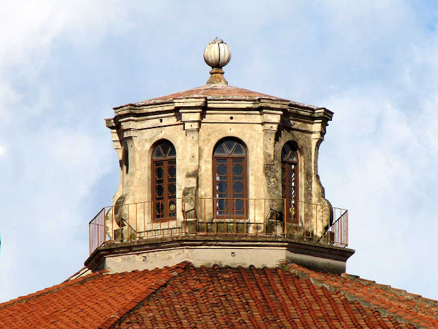 Lantern of the dome, Santa Caterina church, Livorno