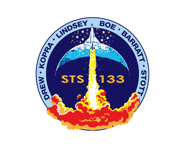 Space Patches: STS-133 Space Shuttle Mission Insignia