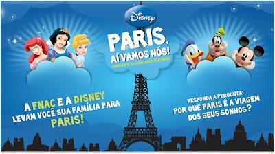Concurso cultural Paris aí vamos nós