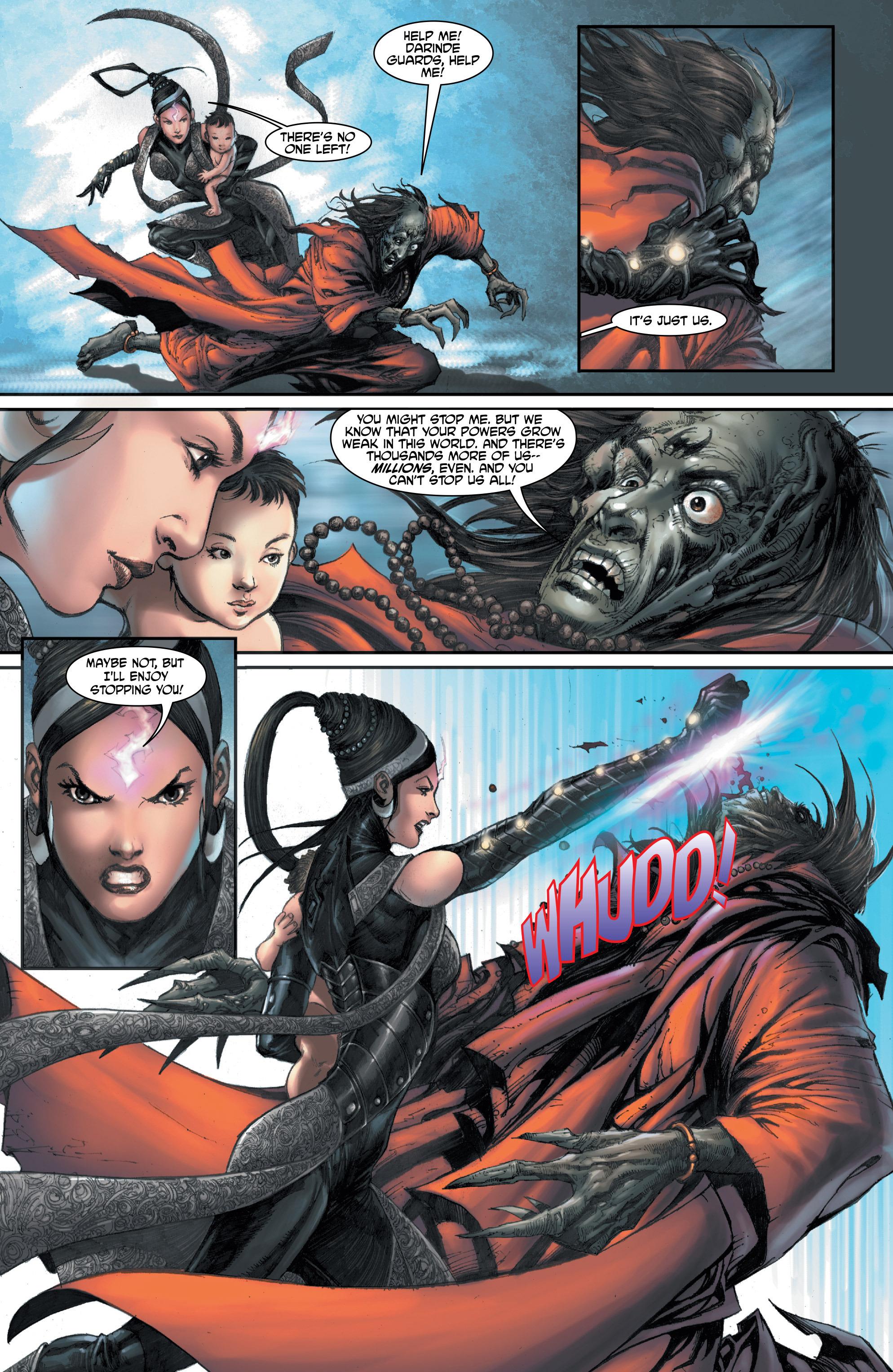 Read online Shekhar Kapur's Devi: Rebirth comic -  Issue #1 - 31