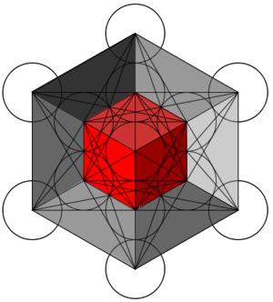 Resultado de imagen de el cubo de metatron en 3D