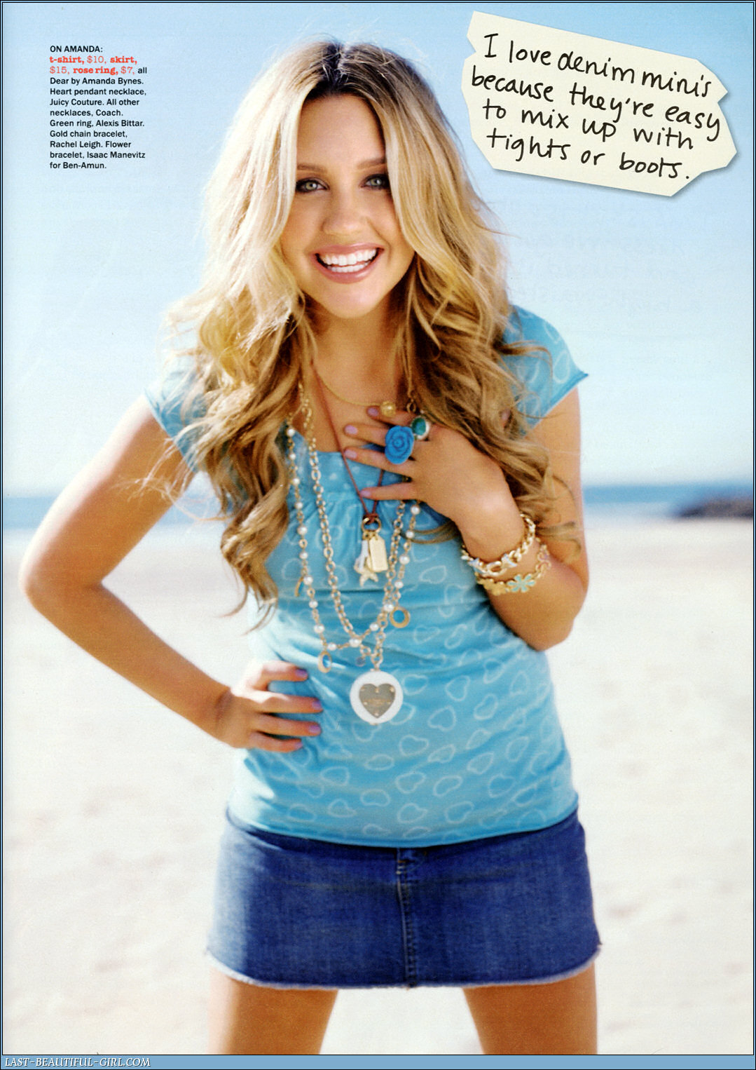 Amanda Bynes Hot Photoshoot Pictures From Seventeen -6152
