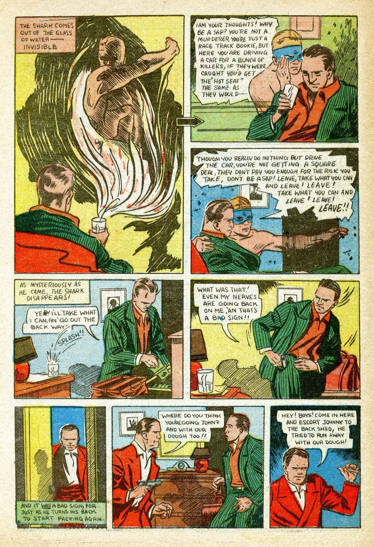 Read online Amazing Man Comics comic -  Issue #8 - 62