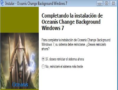 Oceanis Change Background Windows 7 1.0: Mude o papel de parede do  Windows 7 Starter. ... O Oceanis Change Background é um programa que  permite mudar o papel de parede do Windows 7 Starter.O Windows 7 ... Queixa  de software.