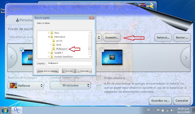 Software oceanis change background w7