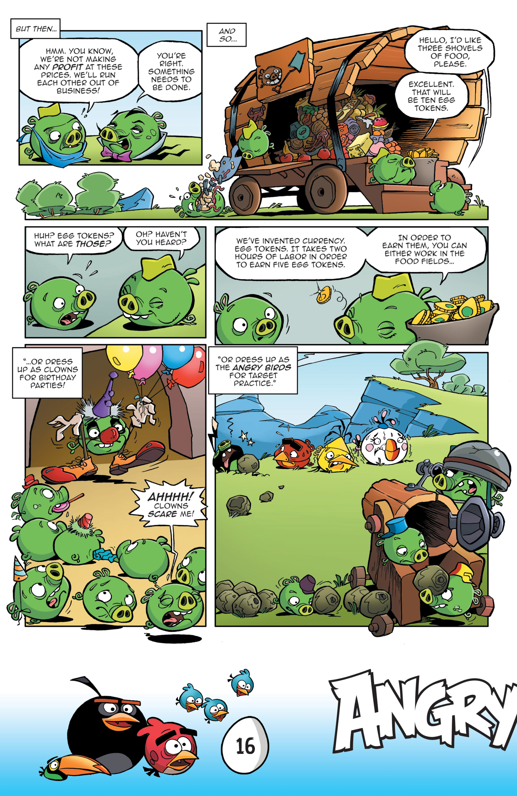 Read online Angry Birds Comics: Game Play comic -  Issue #3 - 18