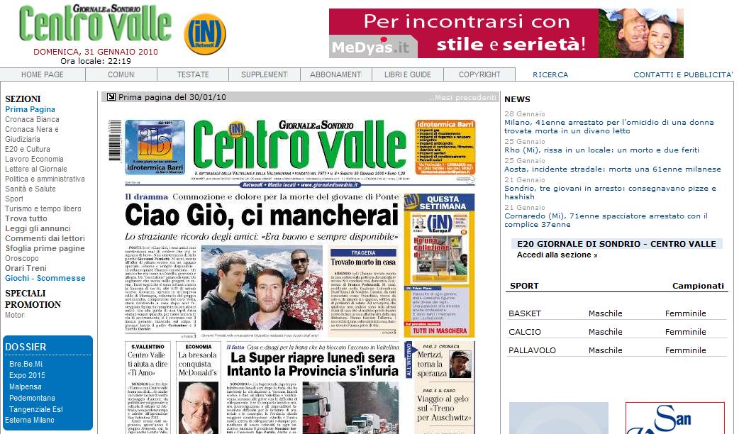 recensione siti incontri omosessuali Sanremo