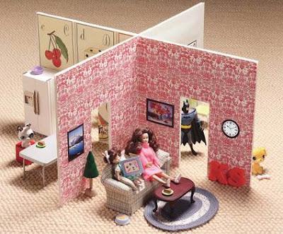 Una casetta delle bambole fai da te pane amore e for Piani casa semplice da costruire