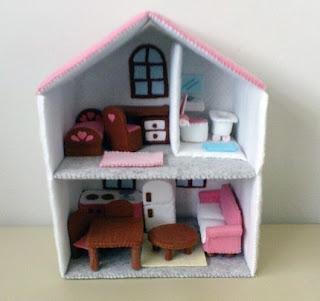 Creare la casa delle bambole pane amore e creativit for Creare la propria casa