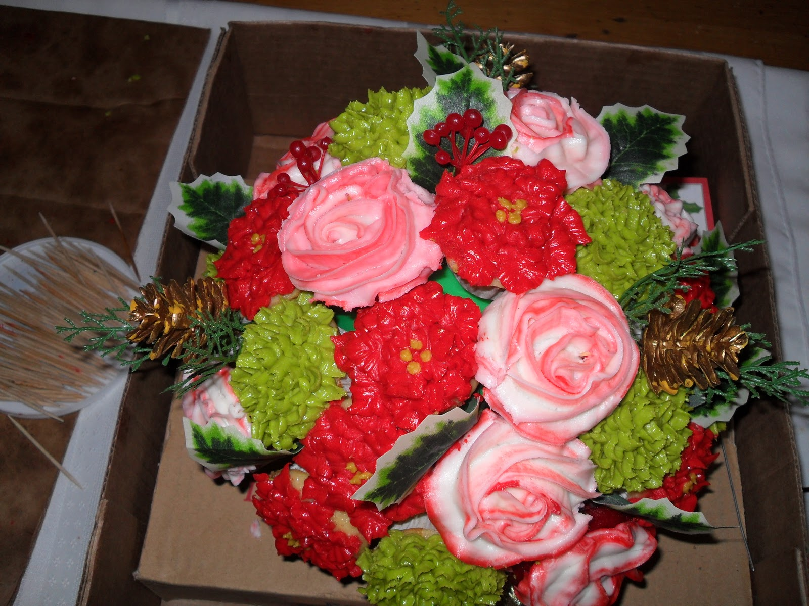 The Cindys Confections Blog Spotlight Cupcake Bouquets With Sugar