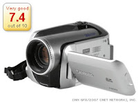 Panasonic Camcorder Features 30GB Hard-drive