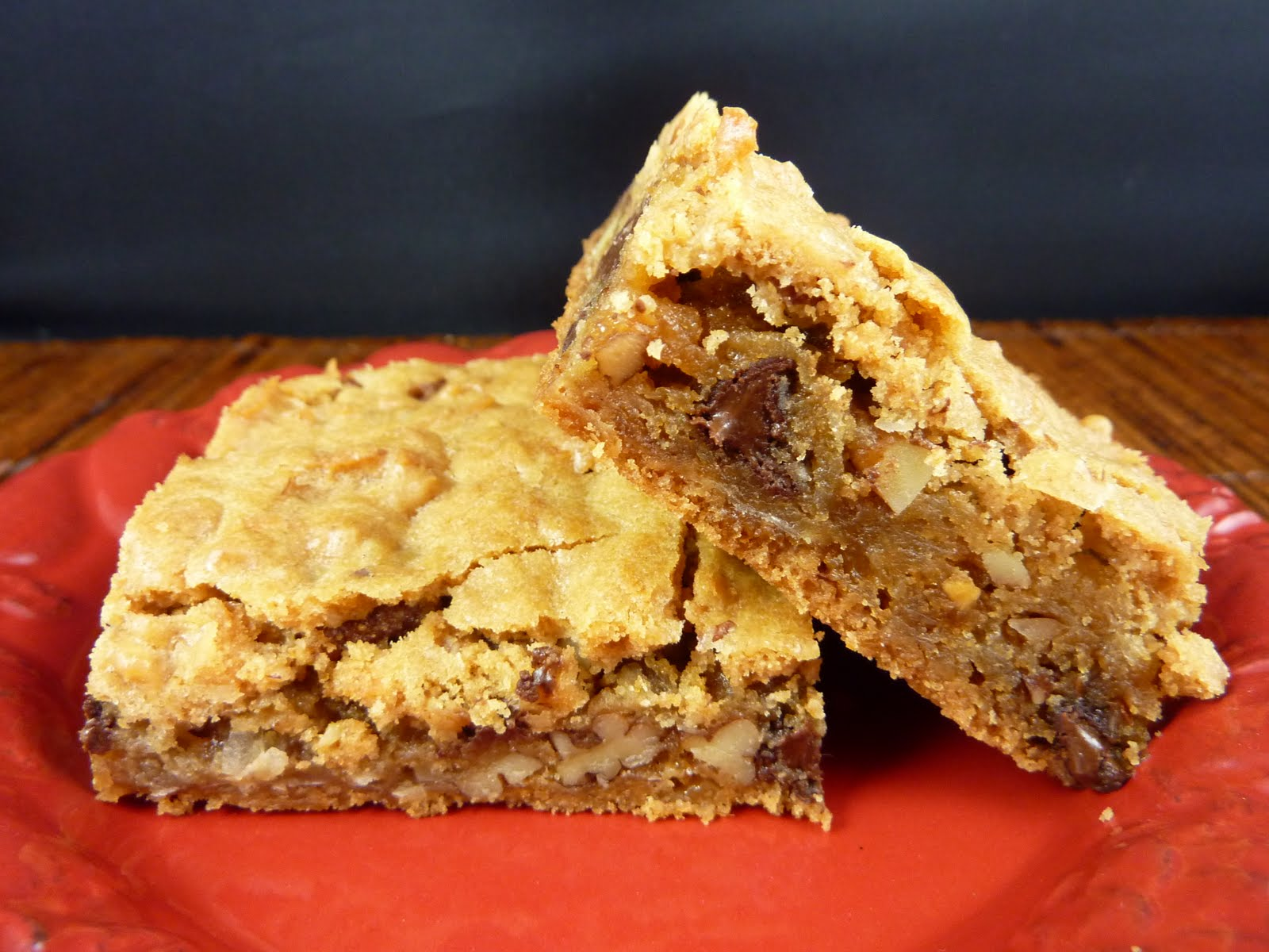 Chewy M&M's Blondies - A Pumpkin And A Princess  |Chewy Blondie Recipe