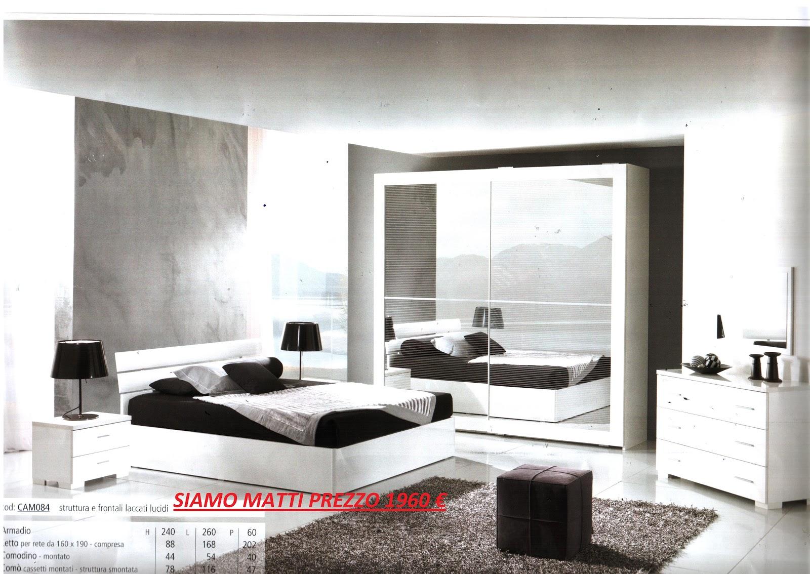 Euro Arredo: Camere da letto Rif.084 e Rif 097