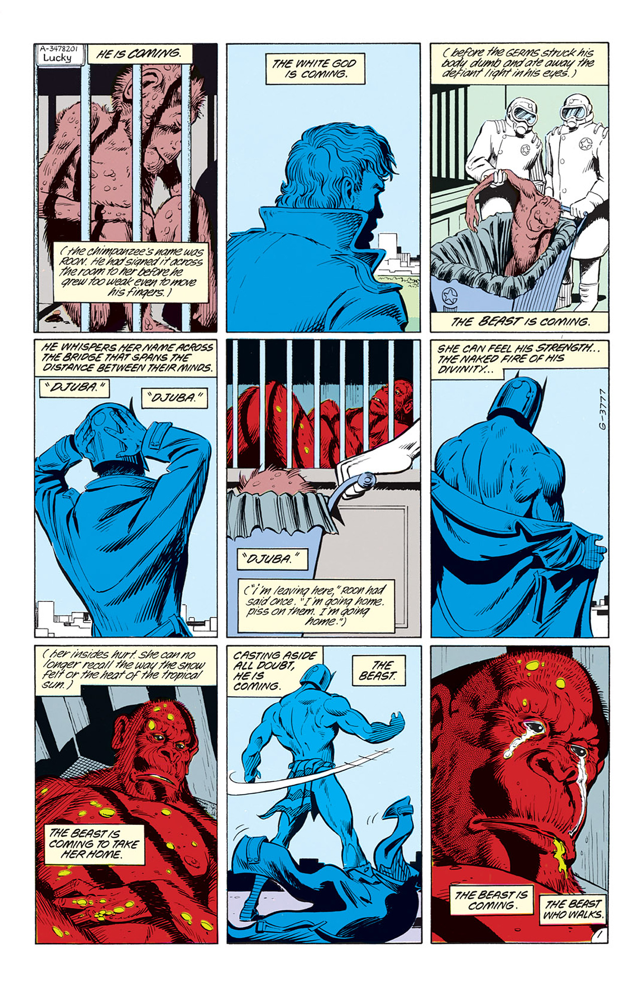 Read online Animal Man (1988) comic -  Issue #3 - 3