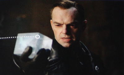 Actor Hugo Weaving as Red Skull - Captain America Movie