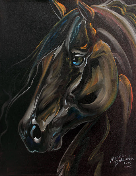 Marcia Baldwin Horse Paintings