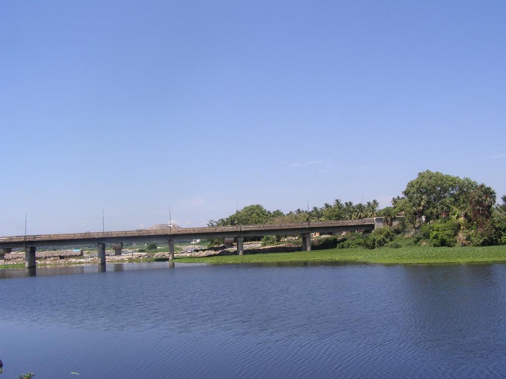 Erode Kaveri River Bridge
