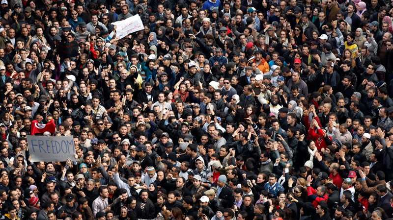 Sidi Bouzid tunisia protest