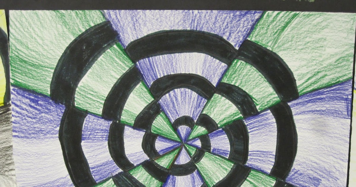 Lines, Dots, And Doodles: Optical Illustions, 4th Grade