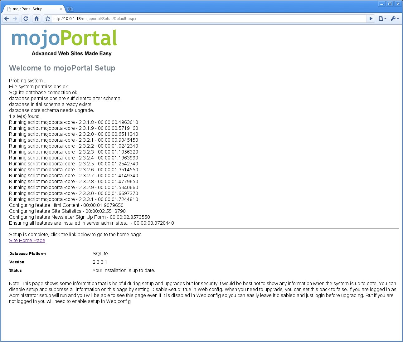 Selling Free Software for a Living: MojoPortal on SLES 11 with Mono