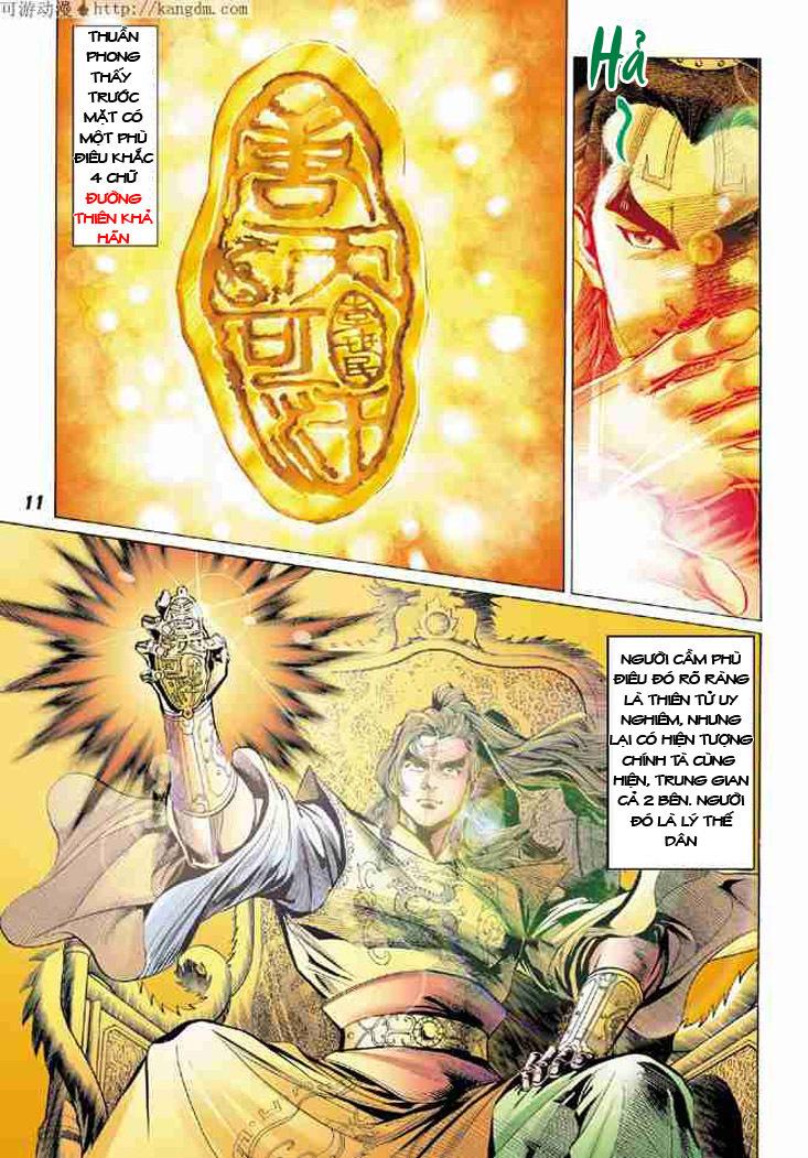 Đại Đường Uy Long chapter 6 trang 10