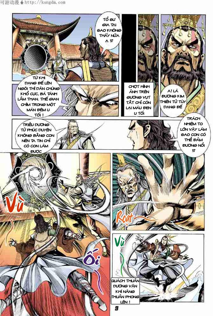 Đại Đường Uy Long chapter 6 trang 9