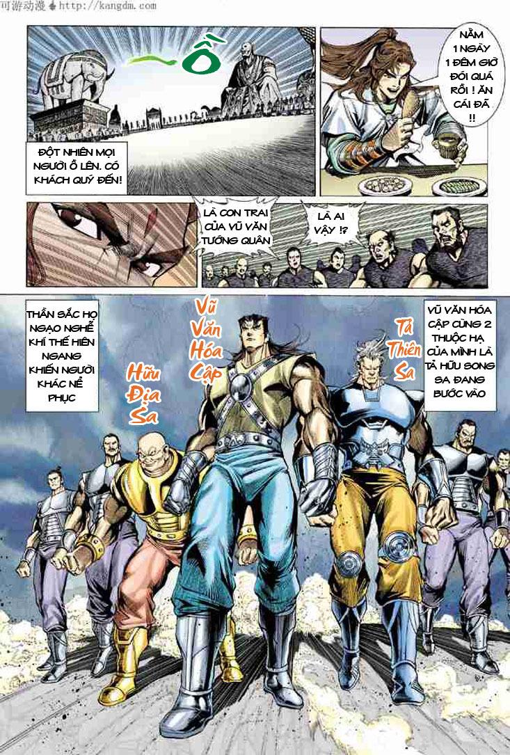 Đại Đường Uy Long chapter 7 trang 18