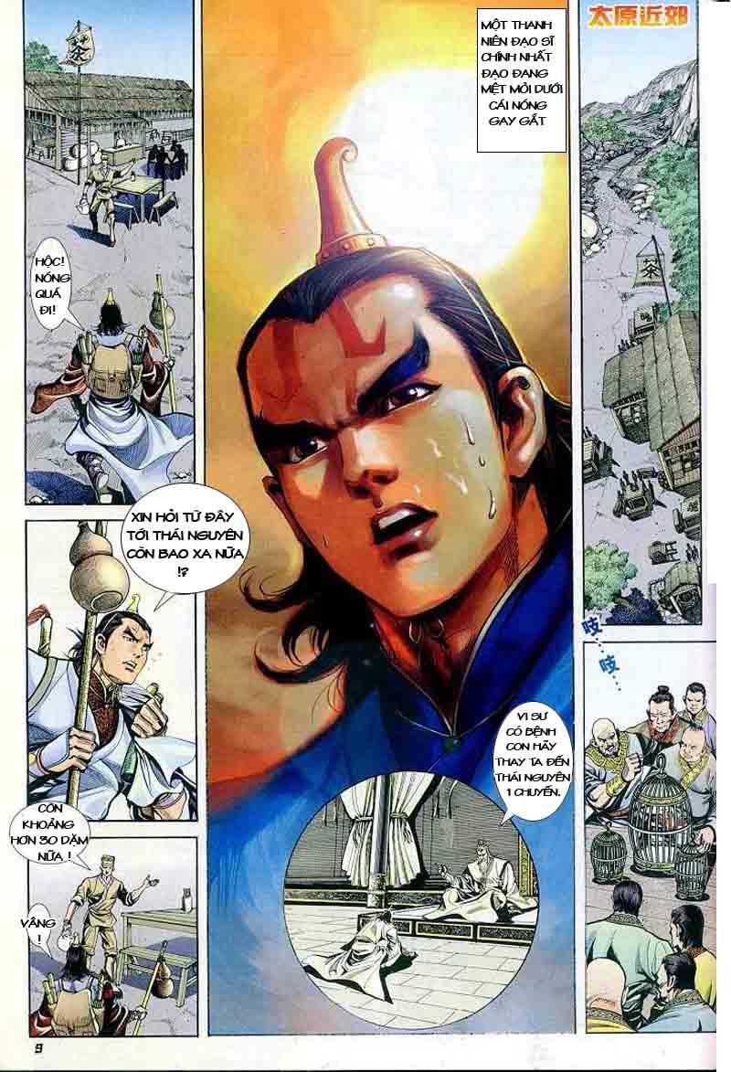 Đại Đường Uy Long chapter 2 trang 8
