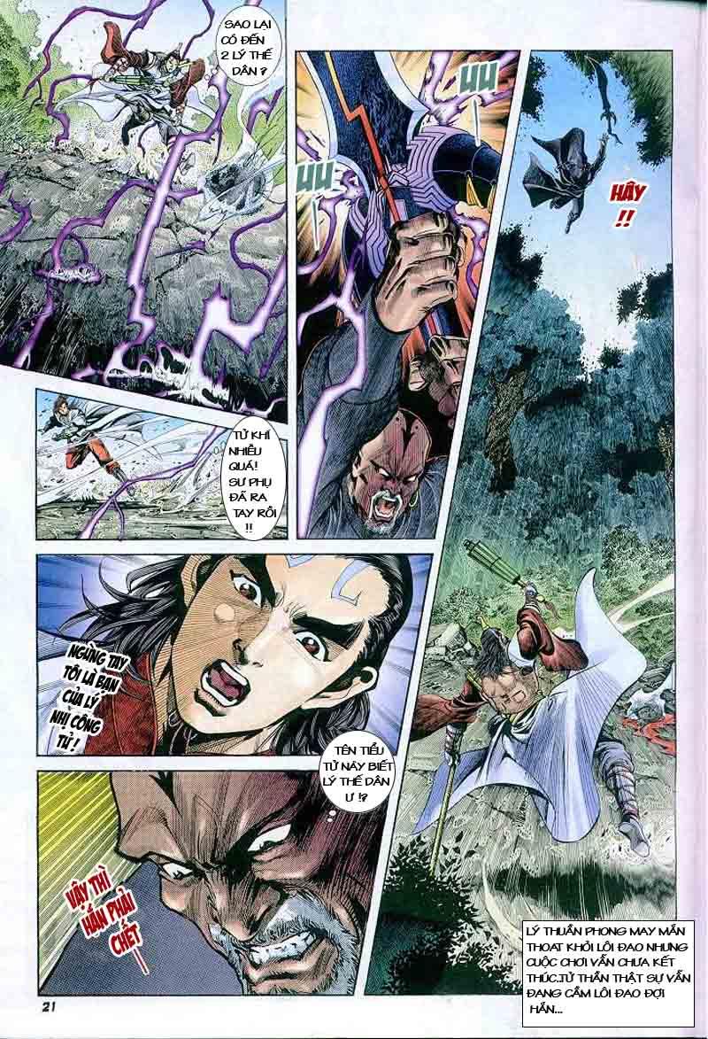 Đại Đường Uy Long chapter 2 trang 20