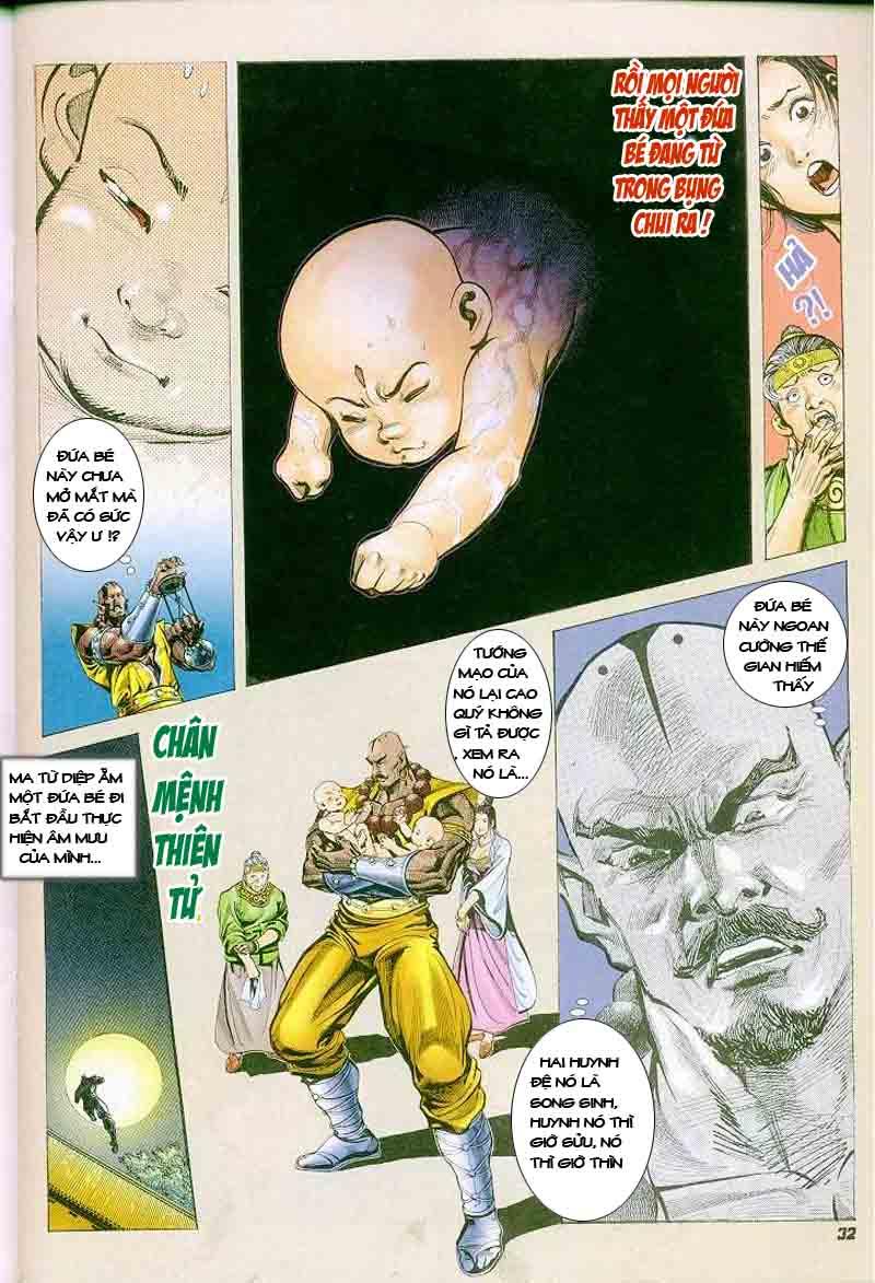 Đại Đường Uy Long chapter 2 trang 31