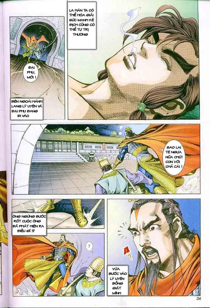 Đại Đường Uy Long chapter 2 trang 33