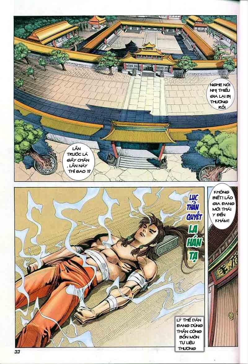 Đại Đường Uy Long chapter 2 trang 32