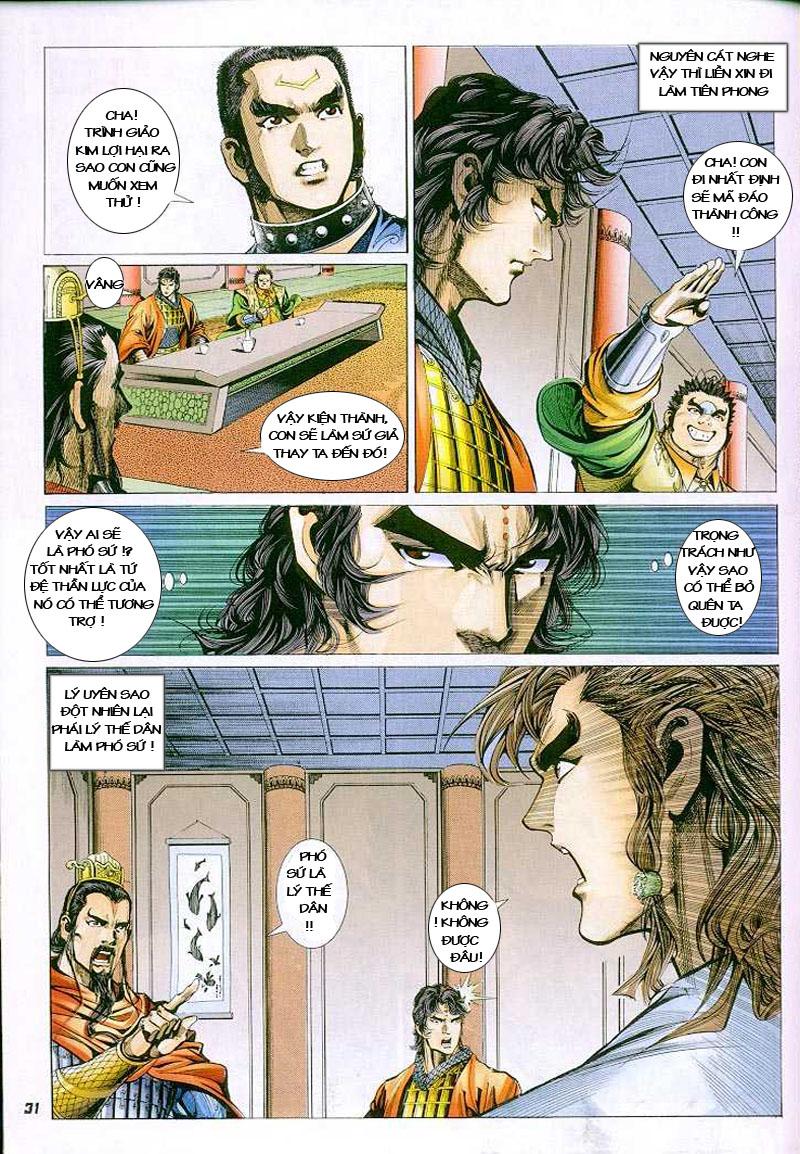 Đại Đường Uy Long chapter 3 trang 29