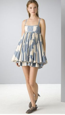 Marc by Marc Jacobs  Crosstown Stripe Dres