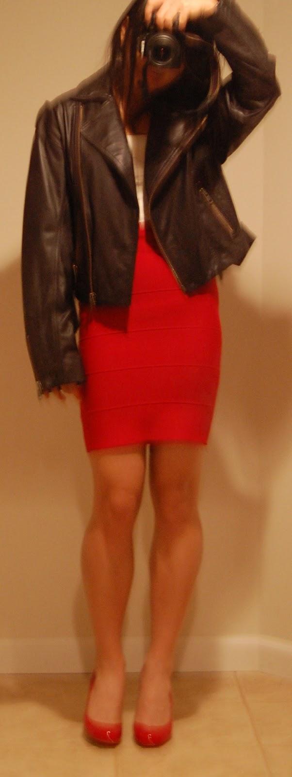 BCBG Textured (aka Bandage) Skirts