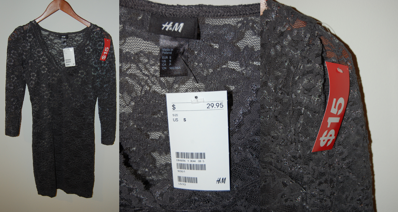 Wear It Five Ways : H&M Lace Dress
