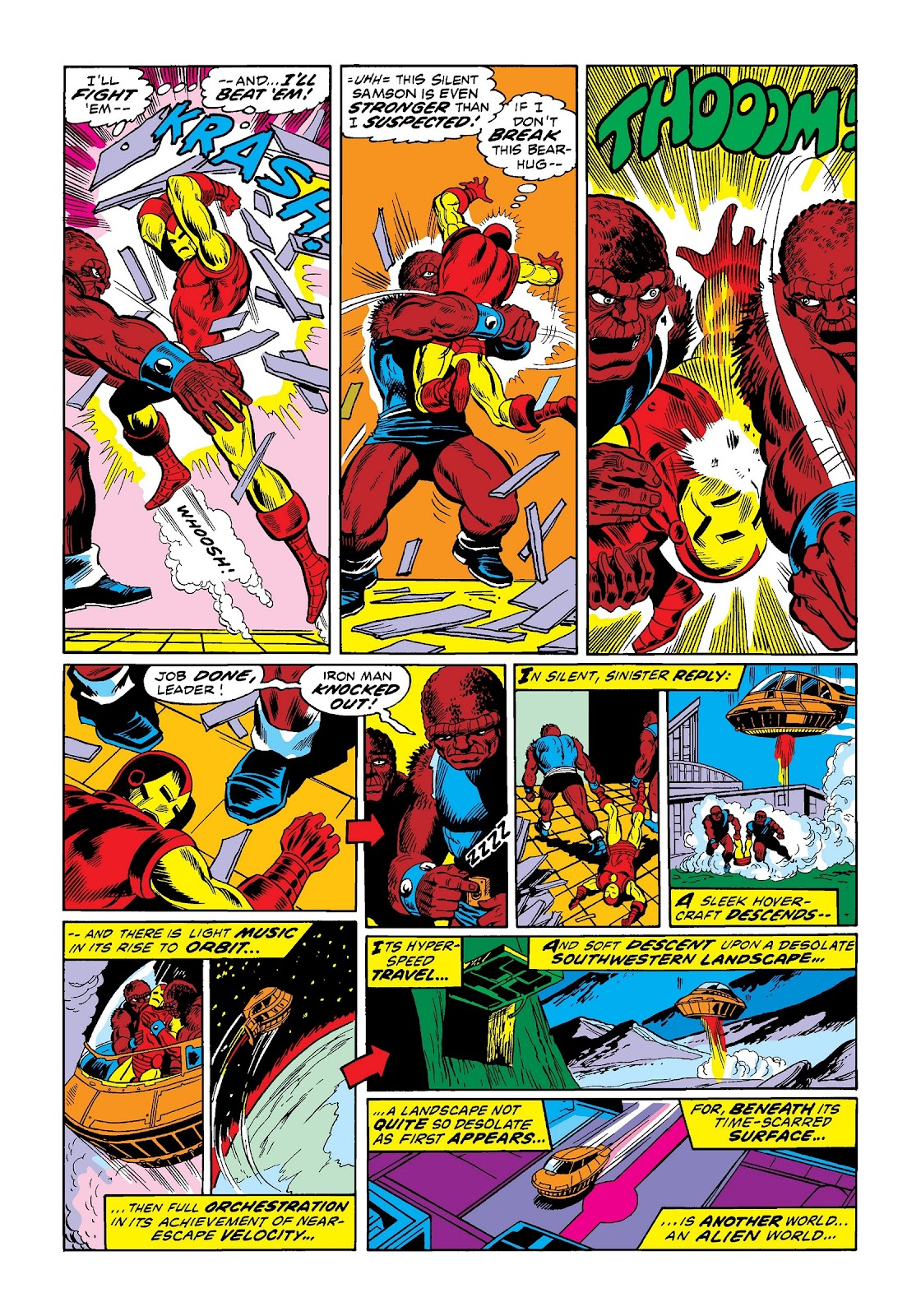 Read online Marvel Masterworks: The Invincible Iron Man comic -  Issue # TPB 9 (Part 1) - 31