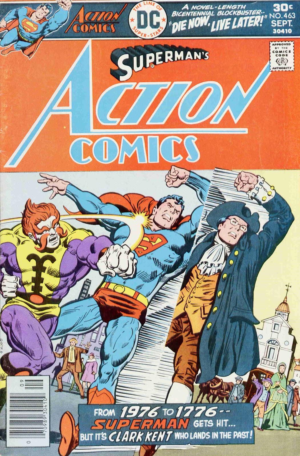 Action Comics (1938) 463 Page 1