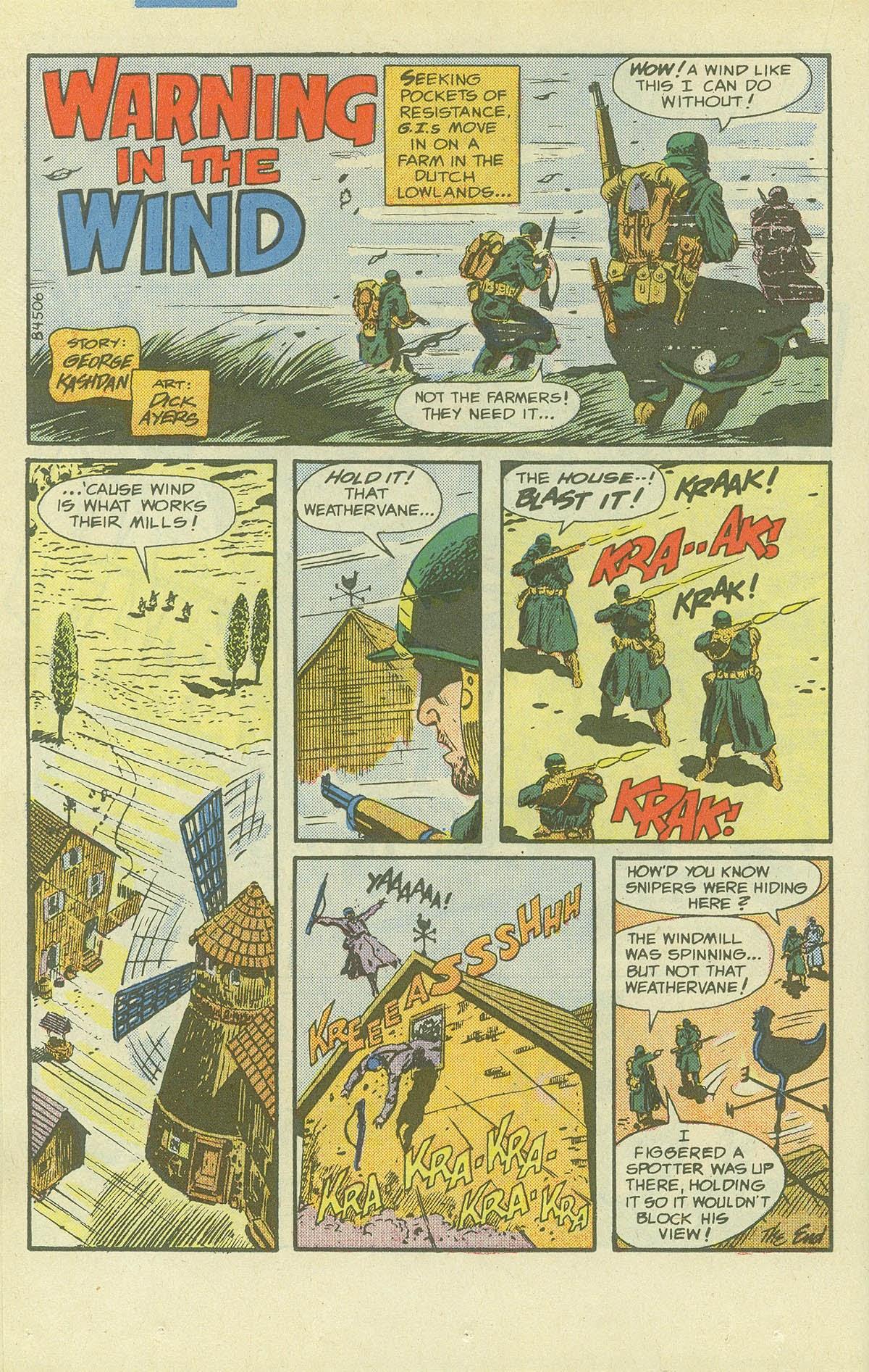 Read online Sgt. Rock comic -  Issue #411 - 21