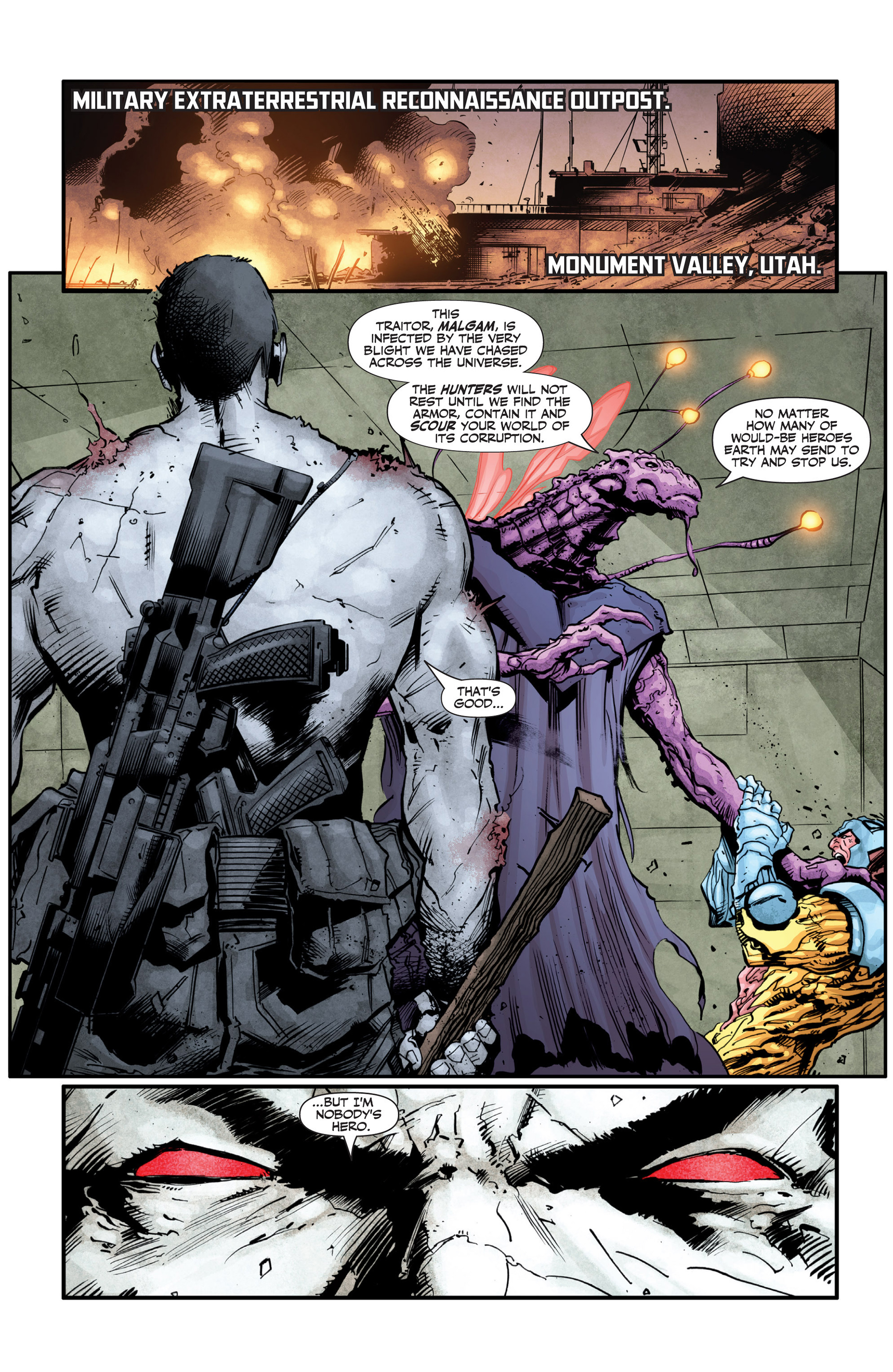 Read online Armor Hunters: Bloodshot comic -  Issue #2 - 3