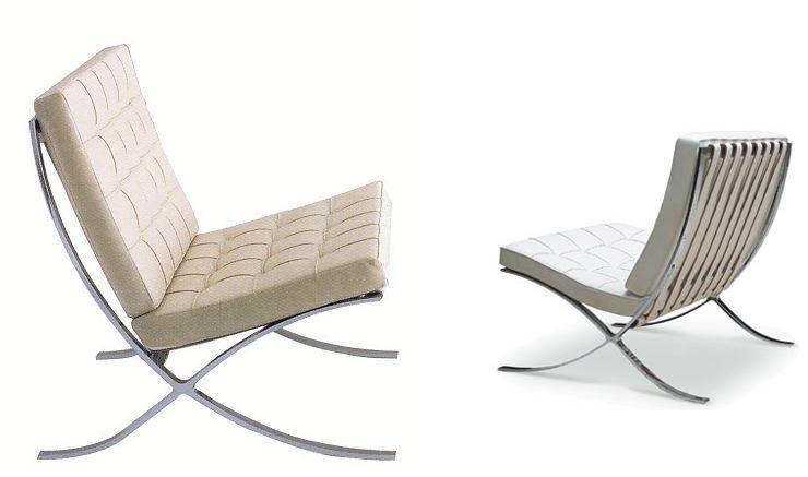 silla barcelona - Cinco modelos de sillas de diseño que deberías conocer