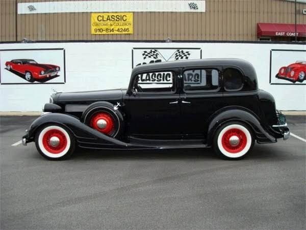 Featured Cars For Sale 1934 Pontiac 4 Door Sedan