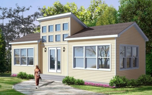 The Clayton i-house: Five new affordable green modular homes